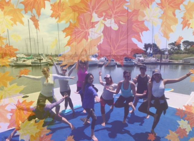 SUP Yoga at Mike's Paddle