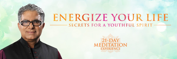 Energize Your Life 21-Day Meditation Experience
