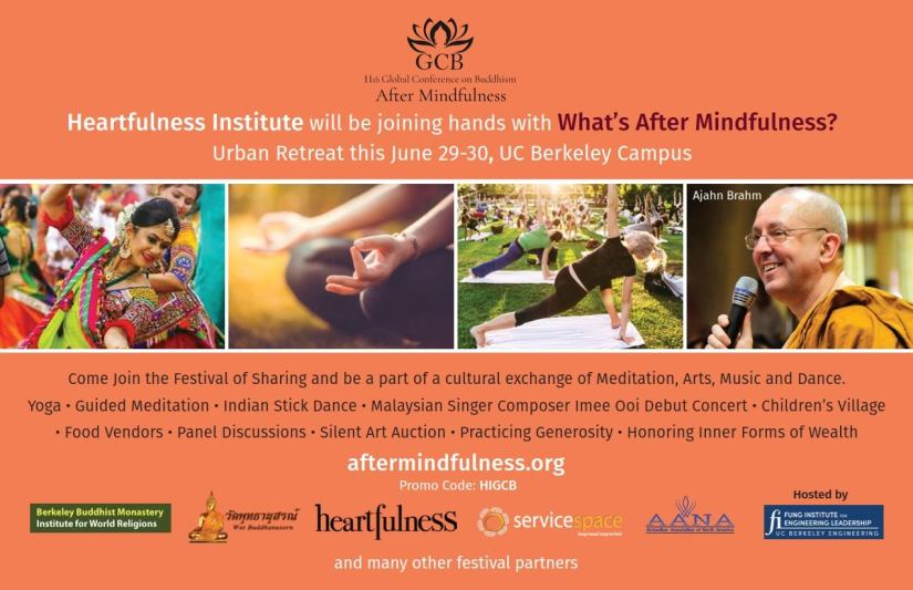 Heartfulness Institute will be joining hands with After Mindfulness