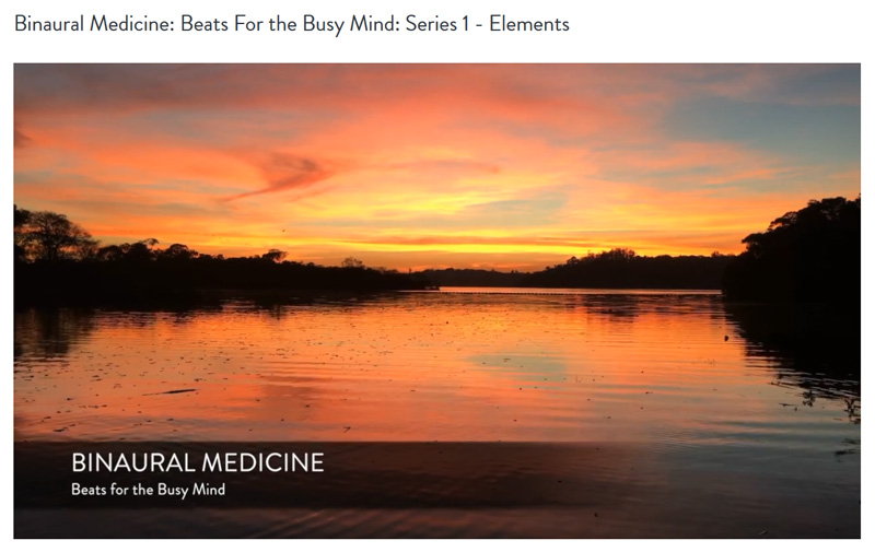 Binaural Medicine: Beats for the Busy Mind